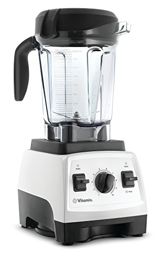 Vitamix 7500 Low-Profile Blender, Professional-Grade, Self-Cleaning 64 oz. Container, White