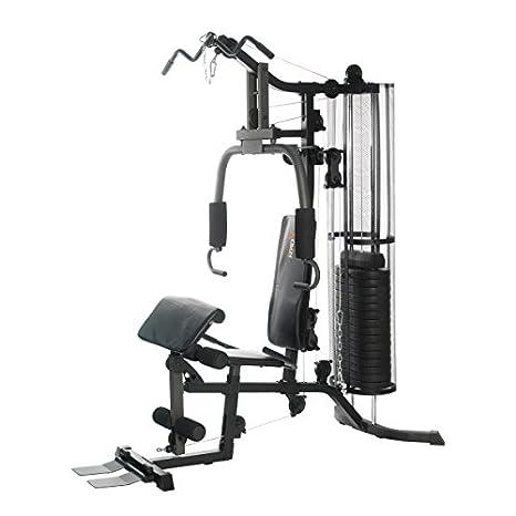 DKN Studio 7400 - columna de pesas compacta para casa – 80 kg: Amazon.es: Deportes y aire libre