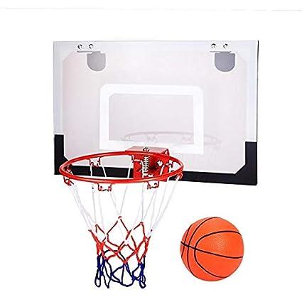Amazon.com: Mini aro de baloncesto para niños con pelota ...