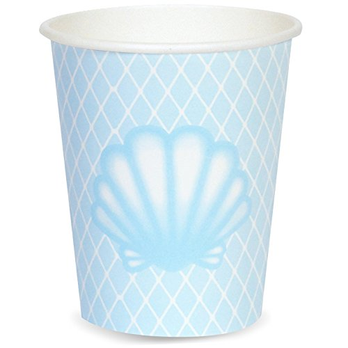 ea Party Supplies - 9 oz. Cups (8) (Little Mermaid 9 Oz Cups)