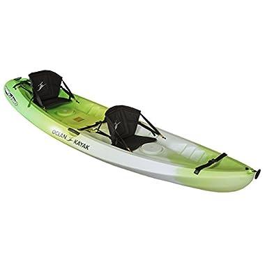 Ocean Kayak Malibu Two Tandem Sit-On-Top Recreational Kayak, Envy, 12-Feet