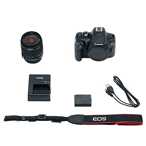 Canon EOS Rebel T6 Digital SLR Camera with 18-55mm EF-S f/3.5-5.6 IS II Lens + 58mm Wide Angle Lens + 2x Telephoto Lens + Flash + 48GB SD Memory Card + UV Filter Kit + Tripod + Full Accessory Bundle Canon EOS Rebel T6 Digital SLR Camera with 18-55mm EF-S f/3.5-5.6 IS II Lens + 58mm Wide Angle Lens + 2x Telephoto Lens + Flash + 48GB SD Memory Card + UV Filter Kit + Tripod + Full Accessory Bundle 41zunCjc 2B1L