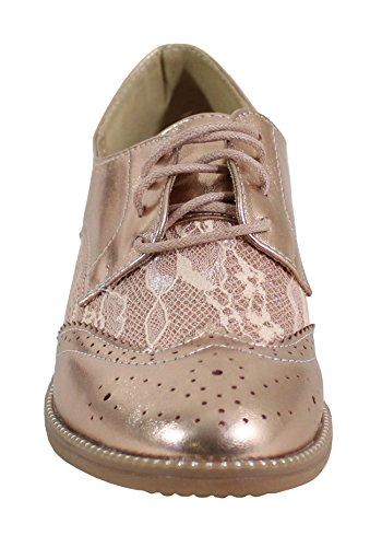 Shoes Stringate Champagne Basse By Donna Scarpe awqfBn4xd