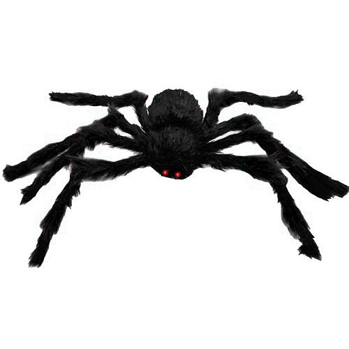 Halloween Decorations Giant Spider (Halloween Decorations 59 IN Giant Hairy Spider)