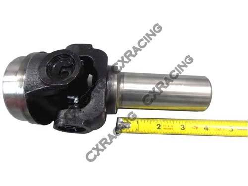 CXRacing DriveShaft Slip Yoke + U-Joint for GM T56 T5 T350 TH350 BW T4  Transmission
