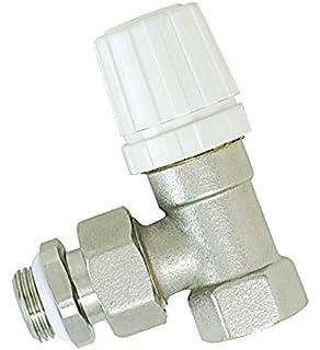 Boutt 1159955 RER15J - Vlvula de escuadra termostatizable para radiador (15 x 21)