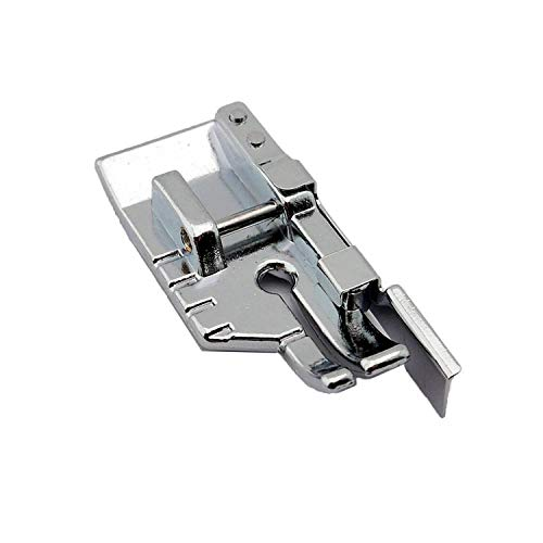 """Cutex (TM) Brand Snap-On 1/4"""" Piecing Foot with Guide #SA185 for Brother Domestic Sewing Machine"""