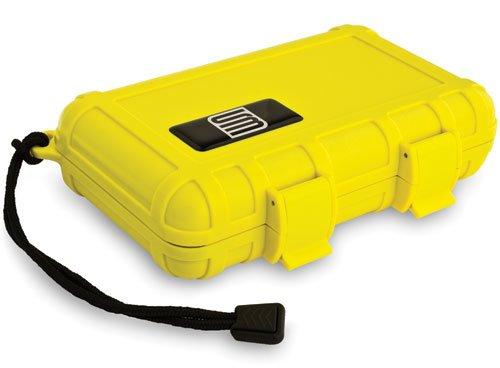 S3 T2000 Dry Protective Gun Case, Yellow, Foam Liner