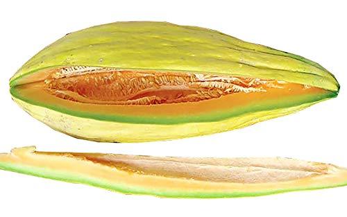 30+ ORGANICALLY Grown Banana Melon Seeds, Heirloom Non-GMO, Rare, Creamy Sweet, Fragrant, from USA (Banana Melon Seeds)