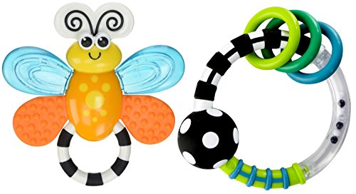 Sassy Flutterby Teether - 8