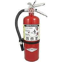 Amerex B500, 5lb ABC Dry Chemical Class A B C Fire Extinguisher