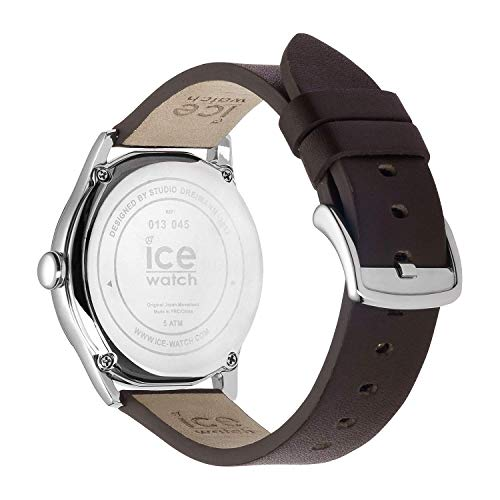 Ice-Watch - ICE time Dark Brown Beige - herrarmbandsur med läderrem - 013045 (stor)