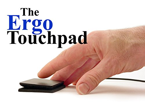 Ergo Touchpad ETP001ETP Wired USB - Black - Low Profile - Programmable and Multi-Touch with Download of free software - 1 15/16