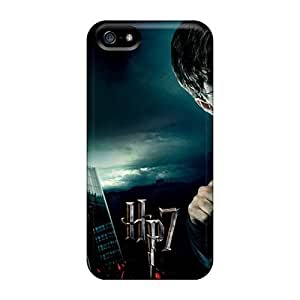 High Impact Dirt/shock Proof Case Cover For Iphone 5/5s (harry Potter 7 056)