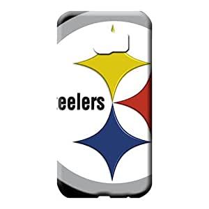 samsung galaxy s6 Protective phone carrying case cover Scratch-proof Protection Cases Covers Shatterproof pittsburgh steelers