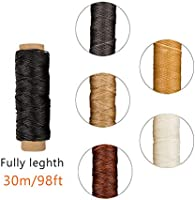 Archival Quality Natural Unbleached and Unwaxed 50 Yards 35//3 Gauge Books by Hand Linen Thread Ideal for Bookbinding and Sewing Signatures