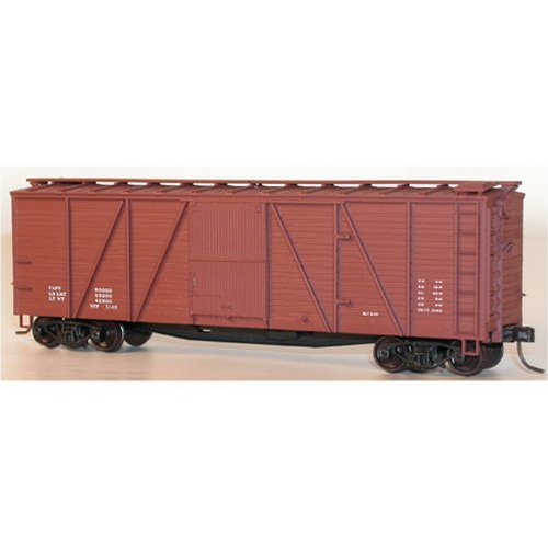 Accurail HO KIT 40' 6-Panel Wood Boxcar, Data/M ACU7298 by Accurail