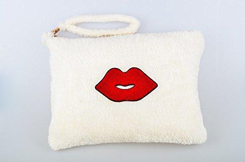 Zarapack - Cartera de mano mujer - Red Lip