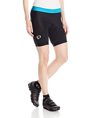 Pearl iZUMi W Select Pursuit Tri Shorts, Black/Atomic Blue, Medium