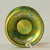 YoYoJam Collid3r Yo-Yo - Collider - Lime with Turquoise Acid Wash