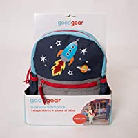 Child Baby Toddler Travel Good Gear Backpack with Safety Harness Leash Space Rocket