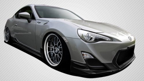 2013-2016 Scion FR-S Carbon Creations TD3000 Body Kit - 4 Piece - Includes TD3000 Front Lip Under Spoiler Air Dam (108542) TD3000 Side Skirts Rocker Panels (108543) TD3000 Rear Lip Under Spoiler Air Dam (108544)