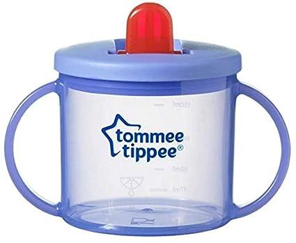 verschiedene Farben Tommee Tippee Essentials Tasse f/ür 1 Tasse