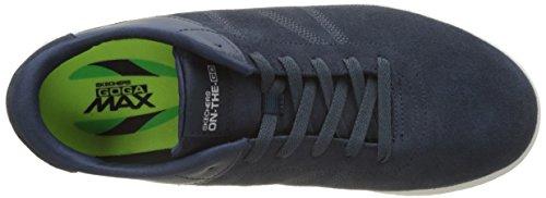 Azul de Zapatillas The Navy Sharp Go Skechers para Entrenamiento On Hombre Glide vnSXFBqYB