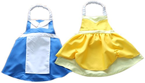 Bibbidi Boutique Princess Dress Up Apron Costume Reversible (Beauty is Within)]()