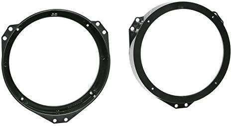 8/Panels Je 375/X 265/X 1,8/mm OPEL ZAFIRA B 05//–/14 sinustec altoparlante casse 165/mm porte anteriori con Premium coibenza STP Black Silver Shop Pack