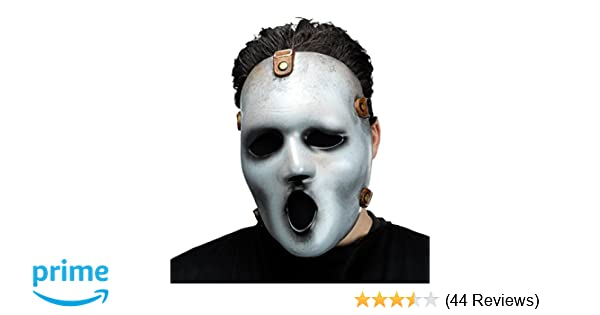 Amazon.com: Fun World Mens Mtv Scream Adult Mask, White, Standard: Clothing