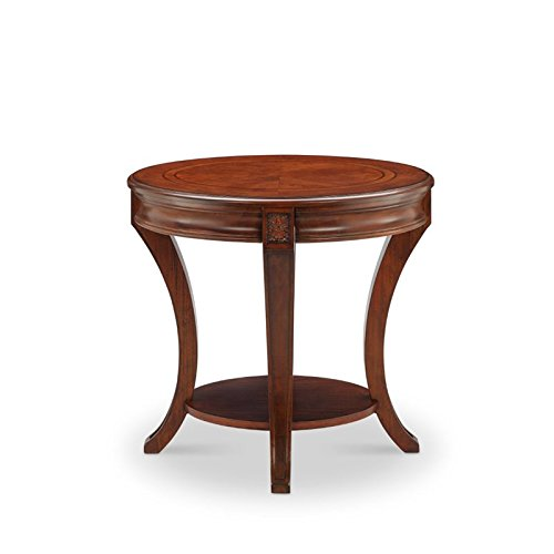 """Magnussen T4115-07 Winslet Oval End Table 25"""" x 22"""" x 26"""""""