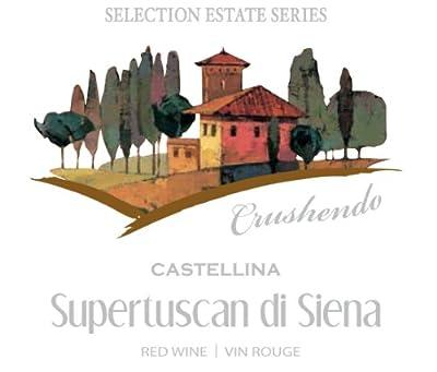 Sel. Est. Crushendo Castellina Supertuscan Di Siena Labels 30/