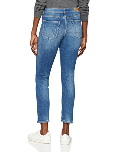 para Azul BOSS Vaqueros Straight Blue 428 Mujer Medium Casual 1w1HtXqxp