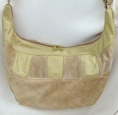 9396aa562042 Amazon.com: Large Leather Hobo Sling Bag with built in wallet from ...