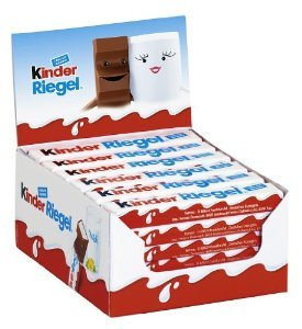 Ferrero Kinder Chocolate bars x36