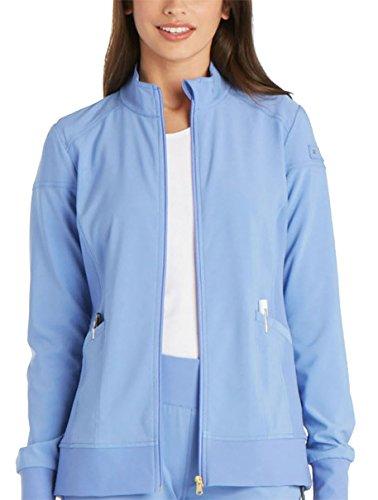 Warm Up Uniforms - Cherokee iFlex CK303 Zip Front Warm-Up Jacket Ciel L