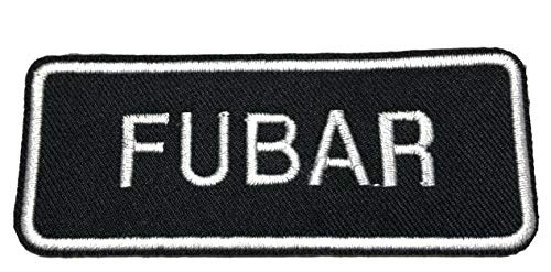 FUBAR Embroidered Patch Tactical Military Morale Biker Motorcycle