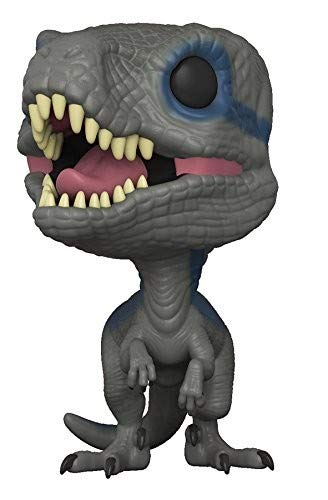 Funko Pop Movies: Jurassic World 2 - Blue, Velociraptor Collectible Figure, Multicolor]()