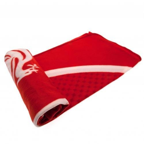 (Official Liverpool FC Bullseye Fleece Blanket by Home Win)