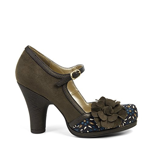 Hannah Pumps amp; Jane Matching Olive Bag Women's Capri Shoo Ruby Mary TwRUqU