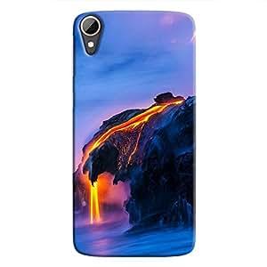 Cover It Up - Lava And Sea Desire 828 Hard Case