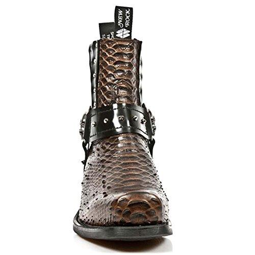 7959 Dallas Boots New Men's Rock M Multicolored Leather Brown S3 Pq40xxASw