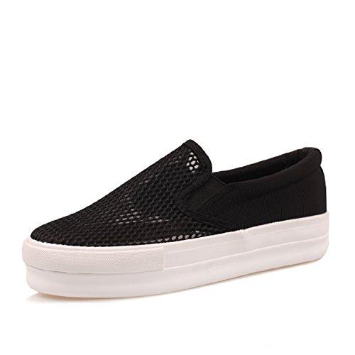 Zapatos de lona suela gruesa/Los zapatos de las mujeres A