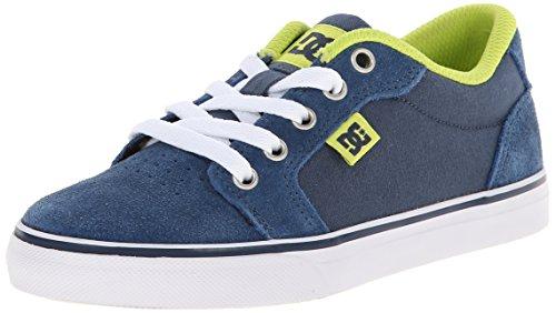 DC Shoes Anvil - K, Jungen Sneakers Blau - Blau (Marineblau)