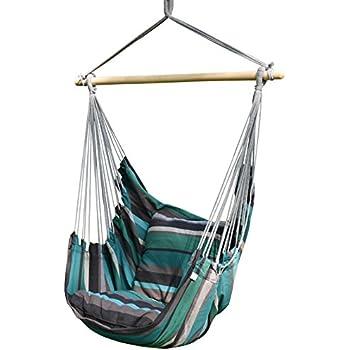 Prime garden seaside stripe soft comfort for Indoor hanging rope chair