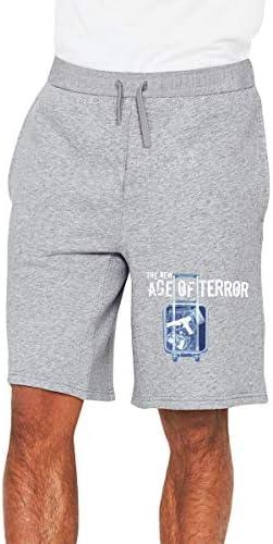 The New Age Of Terror ハーフパンツ メンズ ショートパンツ フィットネス トレーニングウェア 吸汗速乾