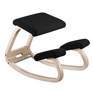 Varier silla ergon mica de madera natural tela for Silla ergonomica amazon