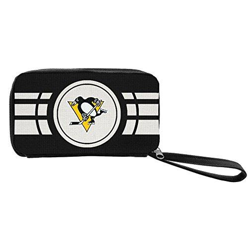 NHL Pittsburgh Penguins Ripple Zip Wallet