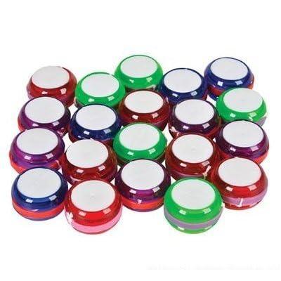 36 Mini Yo Yo Assorted Colors: Toys & Games